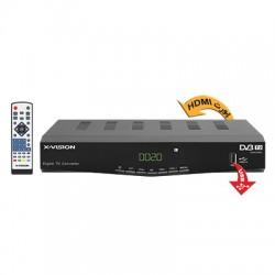 گیرنده دیجیتال ایکس ویژن SetTop Box XVision XDVB-383 DVB-T2