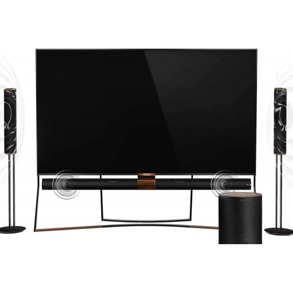 تلویزیون 4K هوشمند تی سی ال QLED TV 4K TCL 85X6US سایز 85 اینچ