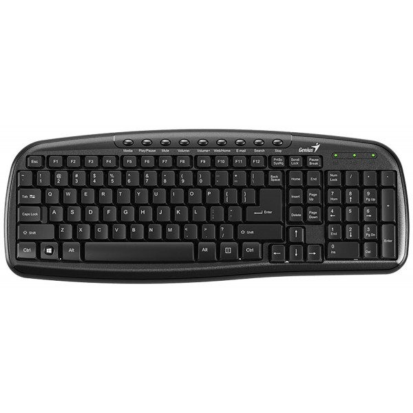 کیبورد سیمدار جنیوس Keyboard Genius KB-M225C