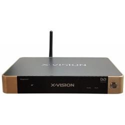 گیرنده دیجیتال و اسمارت باکس ایکس ویژن Hybrid Smart Box XVision XSMT-320K+Plus DVB-T2