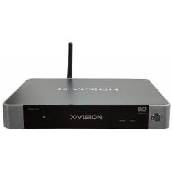 گیرنده دیجیتال و اسمارت باکس ایکس ویژن Hybrid Smart Box XVision XSMT-220K+Plus DVB-T2