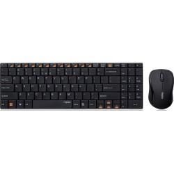 کیبورد و ماوس وایرلس رپو Keyboard Mouse Wireless Rapoo 9060