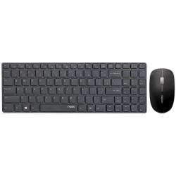 کیبورد و ماوس وایرلس رپو Keyboard Mouse Wireless Rapoo X9310