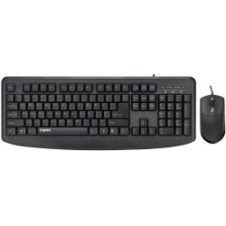 کیبورد و ماوس سیمدار رپو Keyboard Mouse Wired Rapoo NX1720