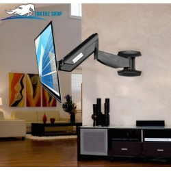 براکت (پایه) دیواری متحرک گازی تلویزیون LED/LCD مدل LCDArm TWM-555A