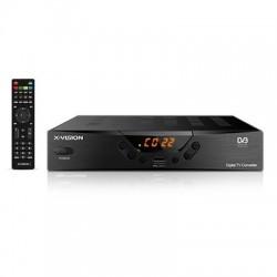 گیرنده دیجیتال ایکس ویژن SetTop Box XVision XDVB-262 DVB-T2