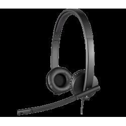 هدست لاجیتک Headset Logitech Stereo H570e