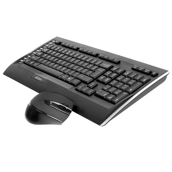 کیبورد و ماوس ای فورتک Keyboard Mouse Wireless A4Tech 9300F