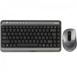 کیبورد و ماوس ای فورتک Keyboard Mouse Wireless A4Tech 7300 Mini