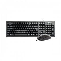 کیبورد و ماوس ای فورتک Keyboard Mouse Wired A4Tech KM-8520D