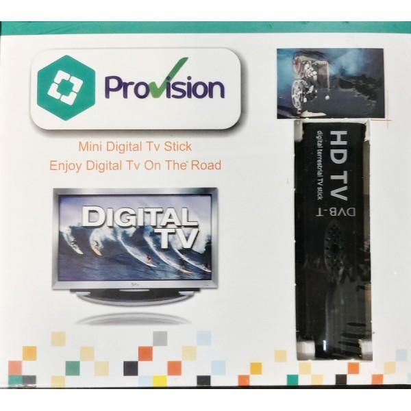 گیرنده دیجیتال کامپیوتر پرو ویژن ProVision USB TV Stick