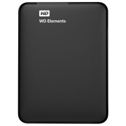 هارد اکسترنال وسترن دیجیتال المنتز WD Elements ظرفیت 1 ترابایت