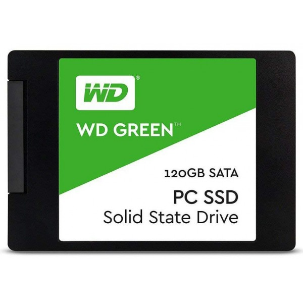 حافظه اس اس دی وسترن دیجیتال SSD WD Green ظرفیت 120 گیگابایت
