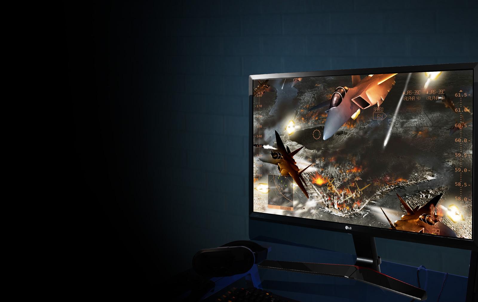 مانیتور ال جی Monitor Gaming IPS LG 27MP59G-P - سایز 27 اینچ