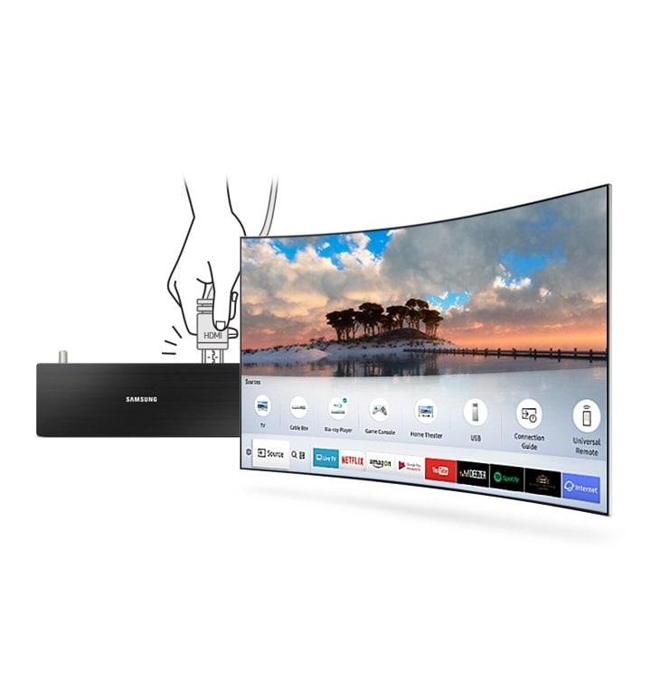 تلویزیون منحنی سامسونگ LED TV Curved Samsung 49N6950 سایز 49 اینچ