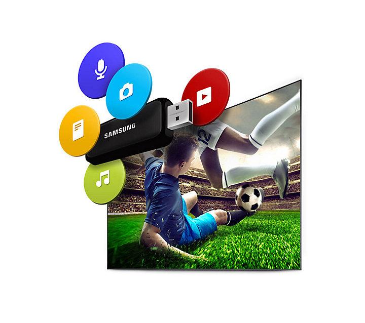 تلویزیون منحنی هوشمند سامسونگ LED Curved TV Samsung 55K6965 - سایز 55 اینچ